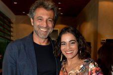 Luciana Lima e Domingos Montagner