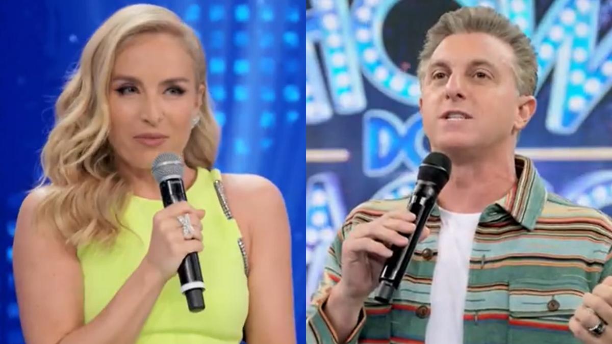 Angélica participou do Show dos Famosos e Luciano Huck se emocionou (Foto: Reprodução/TV Globo)