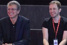 Boninho e Tiago Leifert; diretor da Globo falou sobre saída do apresentador (Foto: Reprodução/Instagram)