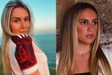 Carolina Portaluppi e Luisa Périssé deram o que falar na web (Fotos: Reprodução/Instagram)