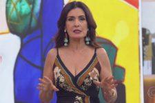 Fátima Bernardes no comando do Encontro; apresentadora se afasta em outubro (Foto: Reprodução/TV Globo)