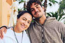 Simone Medina e Gabriel Medina; mãe do surfista revelou decisão e proibição do filho (Foto: Reprodução/Instagram)