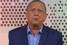 Galvão Bueno comentou sobre estreia de Luciano Huck no Domingão e elogiou Faustão (Foto: Reprodução/TV Globo)