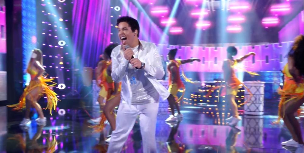 Gloria Groove no Show dos Famosos (Reprodução/TVGlobo)