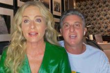 Angélica e Luciano Huck passaram por momento de desespero com acidente do filho (Foto: Reprodução/TV Globo)