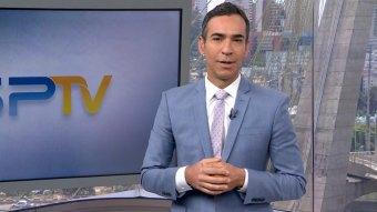 Cesar Tralli em sua despedida do SP1 (Foto: Reprodução/TV Globo)