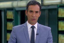 Cesar Tralli é o novo apresentador do Jornal Hoje na vaga de Maju Coutinho (Foto: Reprodução/TV Globo)