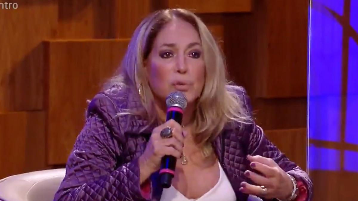 Susana Vieira alfinetou colegas da Globo durante participação no Encontro (Foto: Reprodução/TV Globo)
