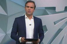 Tadeu Schmidt vai deixar o comando do Fantástico e a Globo procura substituto (Foto: Reprodução/TV Globo)