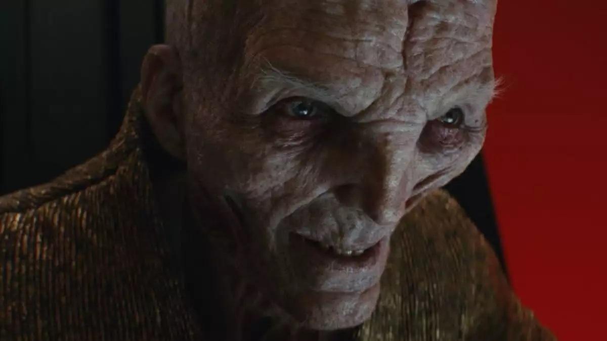 Snoke na saga Star Wars (Reprodução)