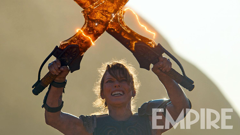 Mila Jovovich como Artemis em Monster Hunter (Foto: Divulgação)