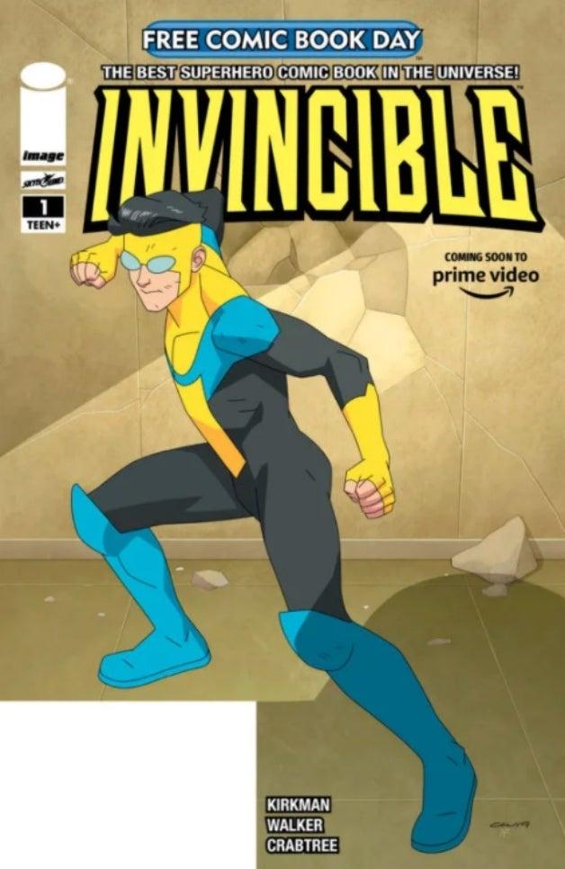 Invincible da Amazon em capa de nova edição de revista