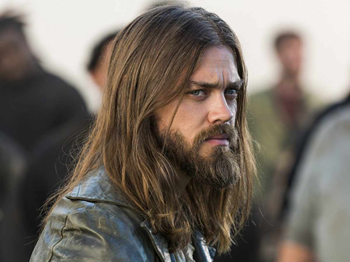 Jesus (Tom Payne) em The Walking Dead