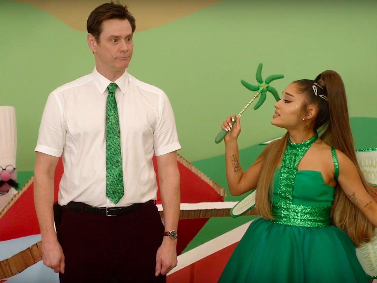 Jim Carrey e Ariana Grande em Kidding
