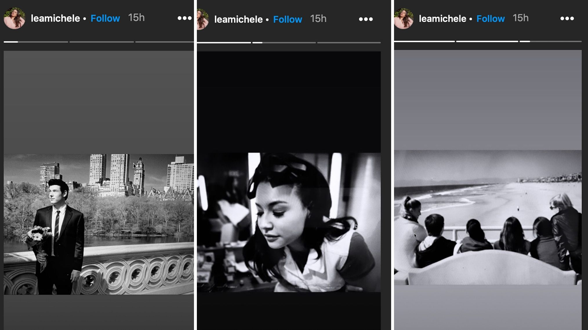 Lea Michele posta foto de Naya Rivera em seu Instagram