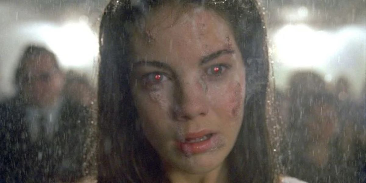 Michelle Monaghan em Constantine (Reprodução)