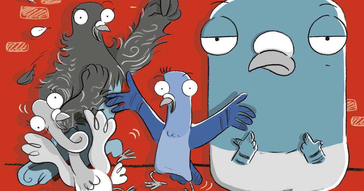 Real Pigeons Fight Crime (Divulgação)