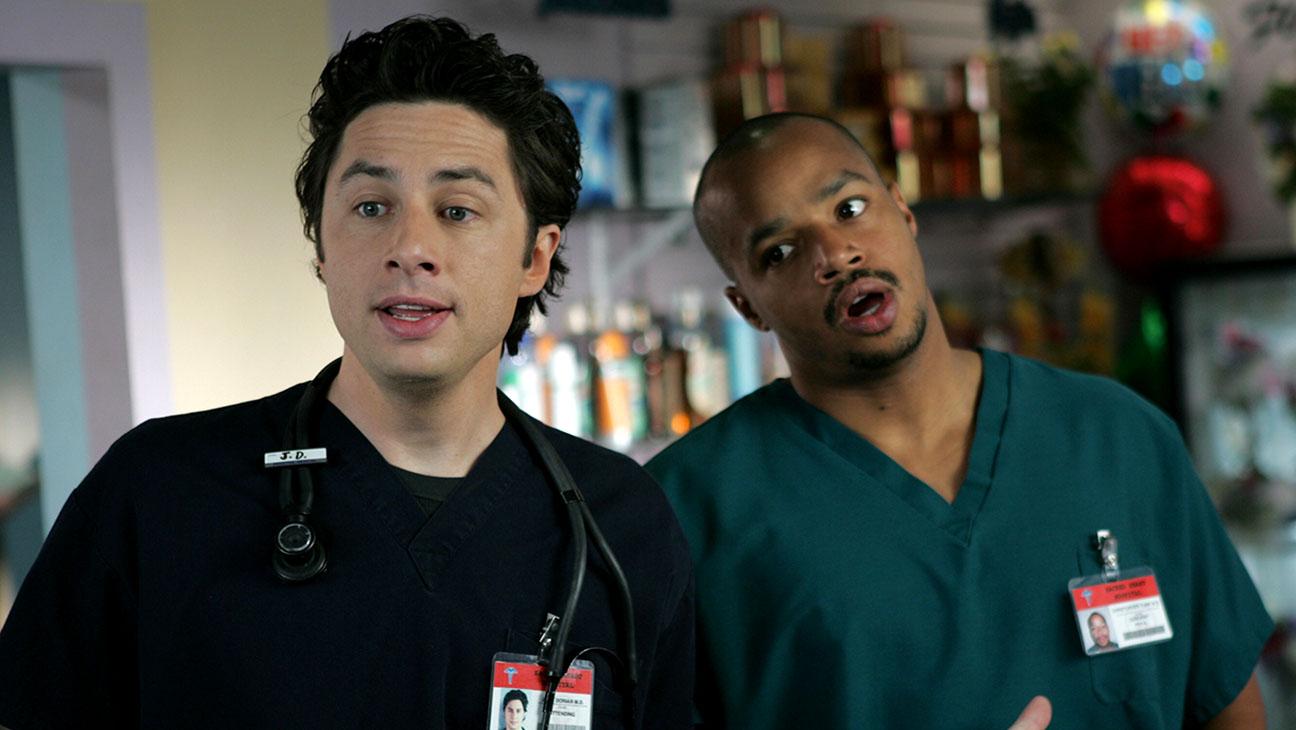 Zach Braff, Donald Faison em Scrubs