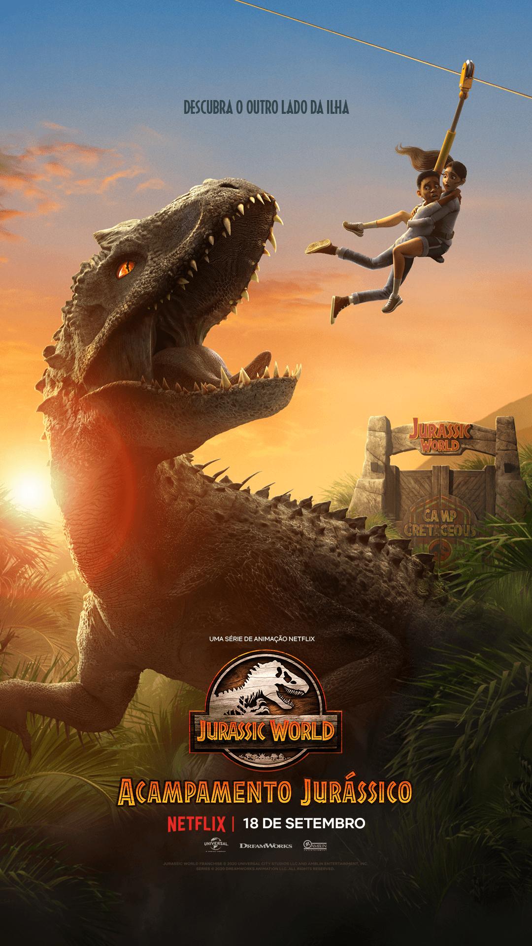 Acampamento Jurássico (Divulgação / Netflix)
