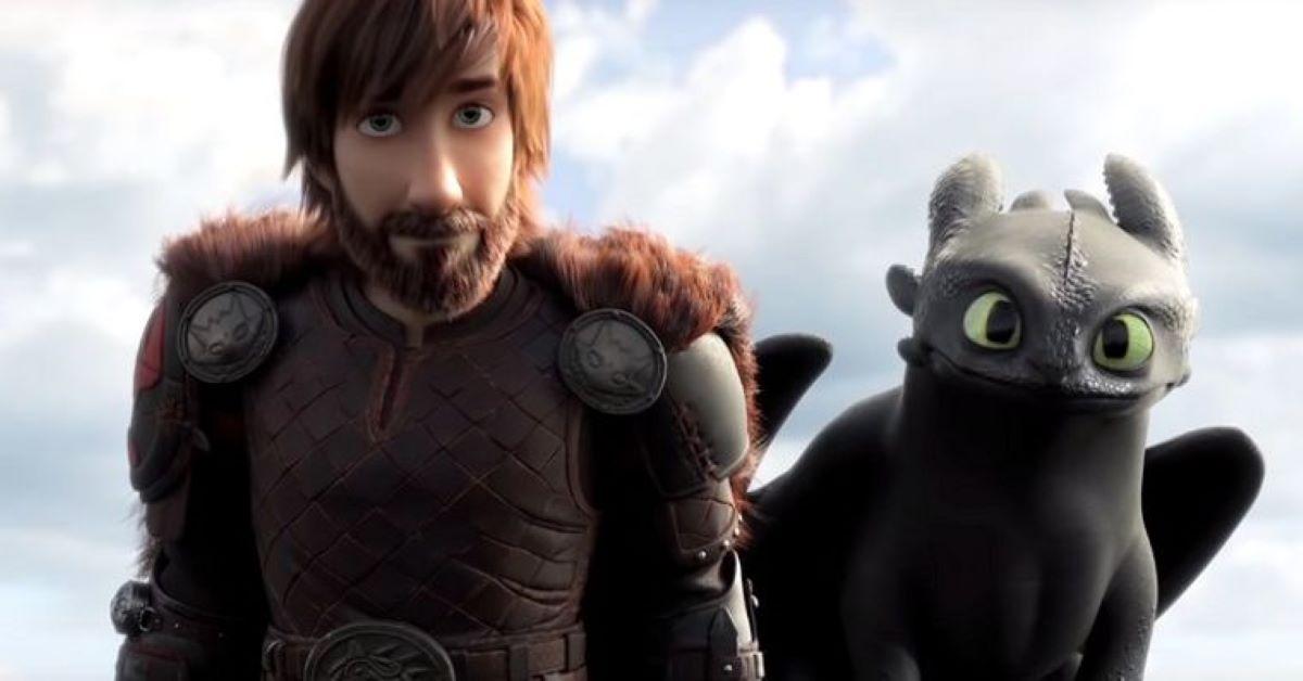 Cena de Como Treinar o seu Dragão 3 (Reprodução / DreamWorks)