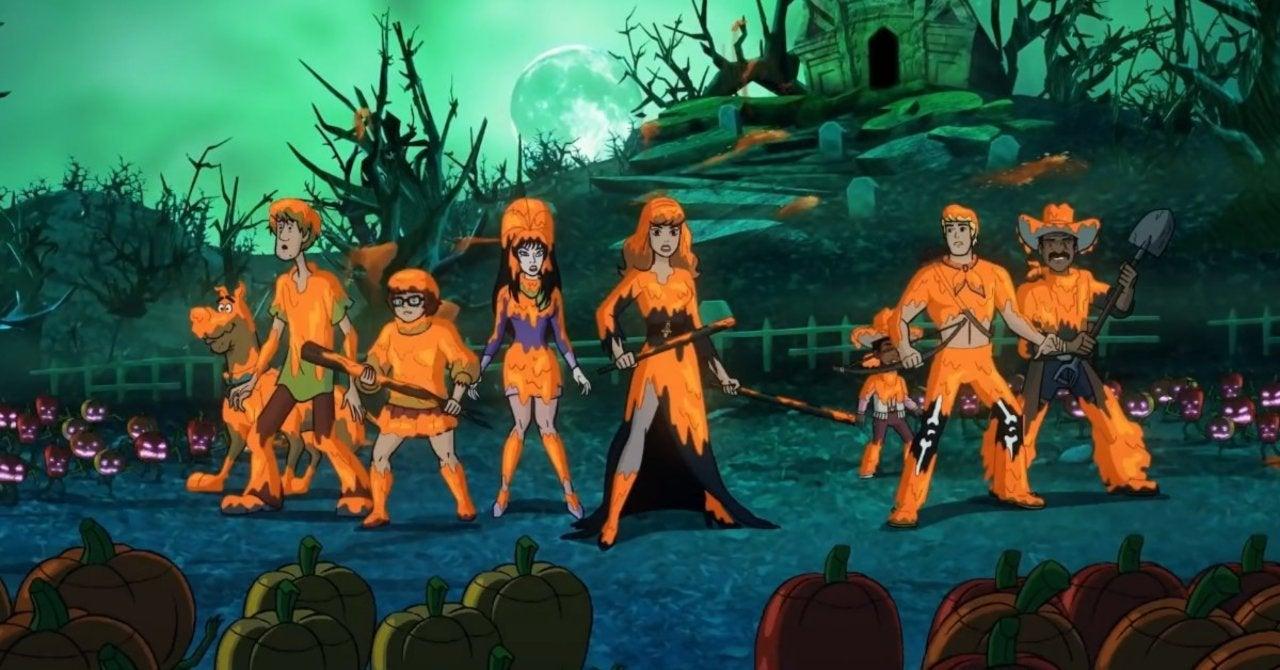 Cena do trailer de Happy Halloween, Scooby-Doo (Reprodução / Warner Bros.)