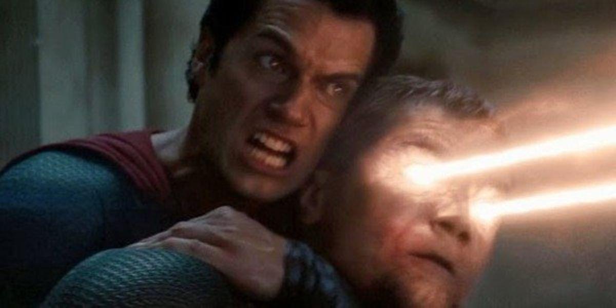 Cena de O Homem de Aço (Reprodução / DC)