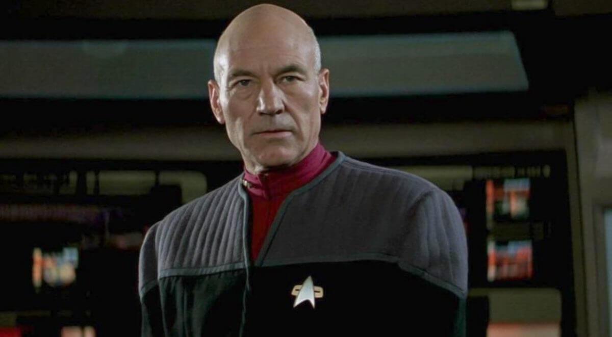Patrick Stewart como Jean-Luc Picard (Divulgação)