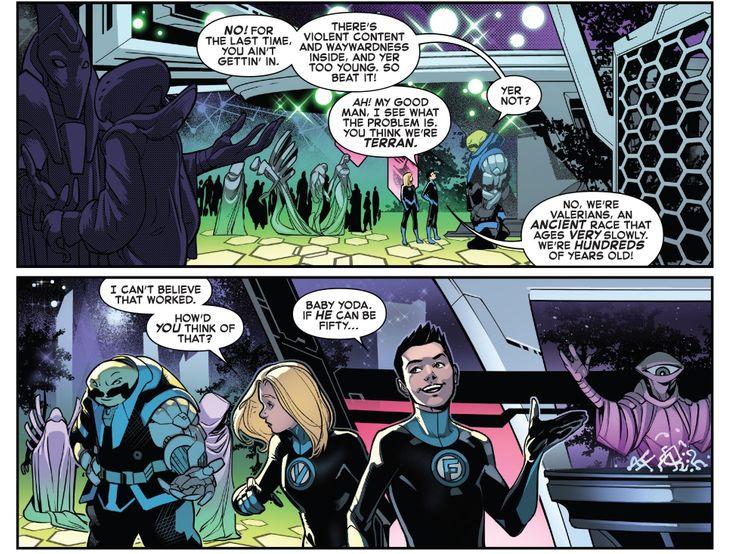 Empyre #0 Fantastic Four (Divulgação / Marvel)