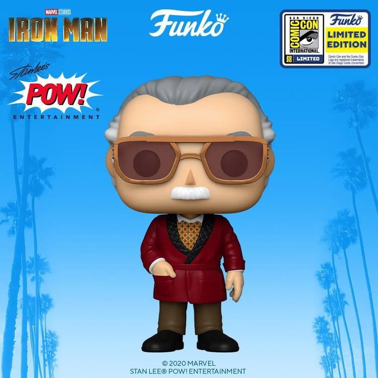 Stan Lee (Divulgação / Funko)