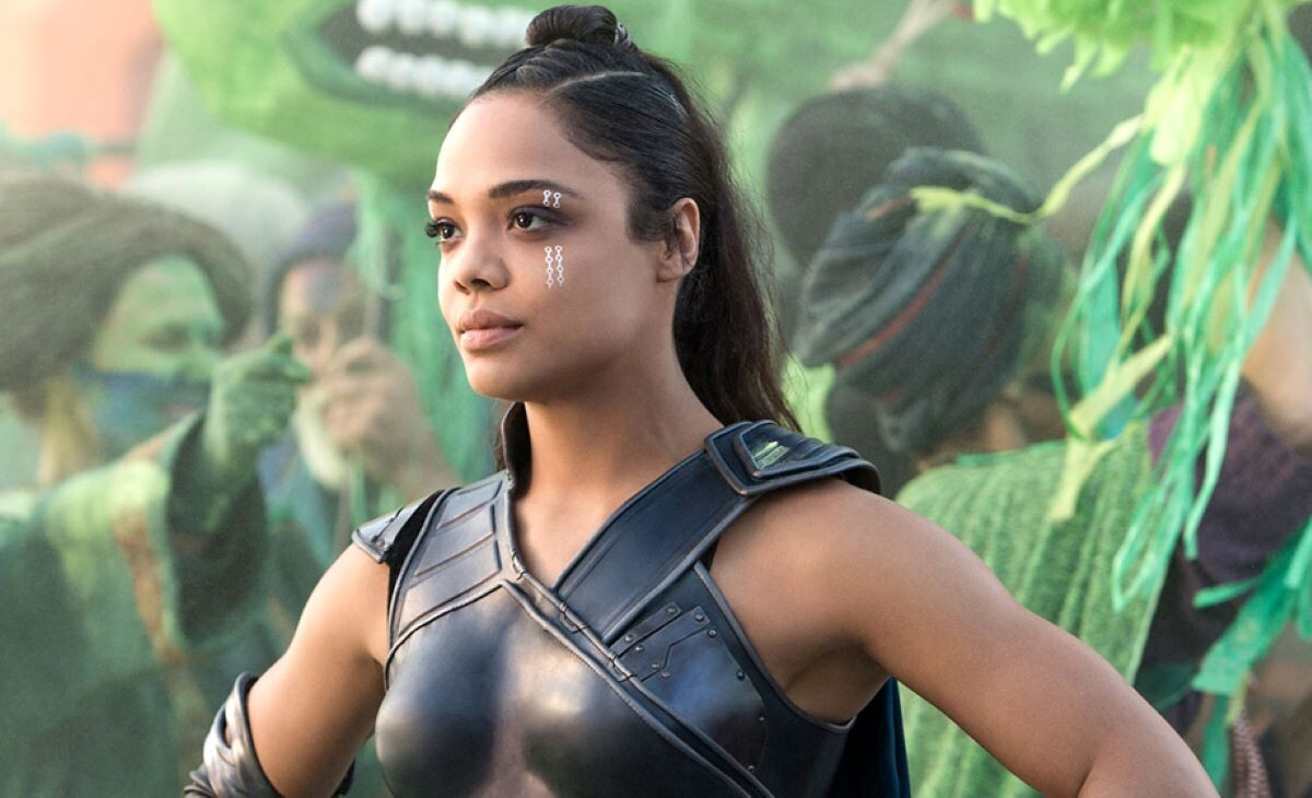 Tessa Thompson como Valquíria em Thor: Ragnarok (Reprodução / Marvel)