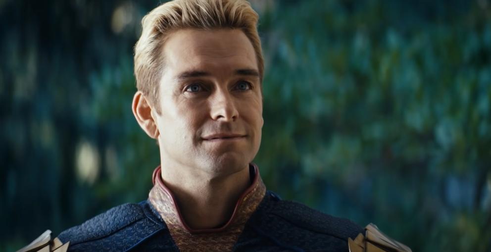 Antony Starr interpreta o Capitão Pátria na série The Boys