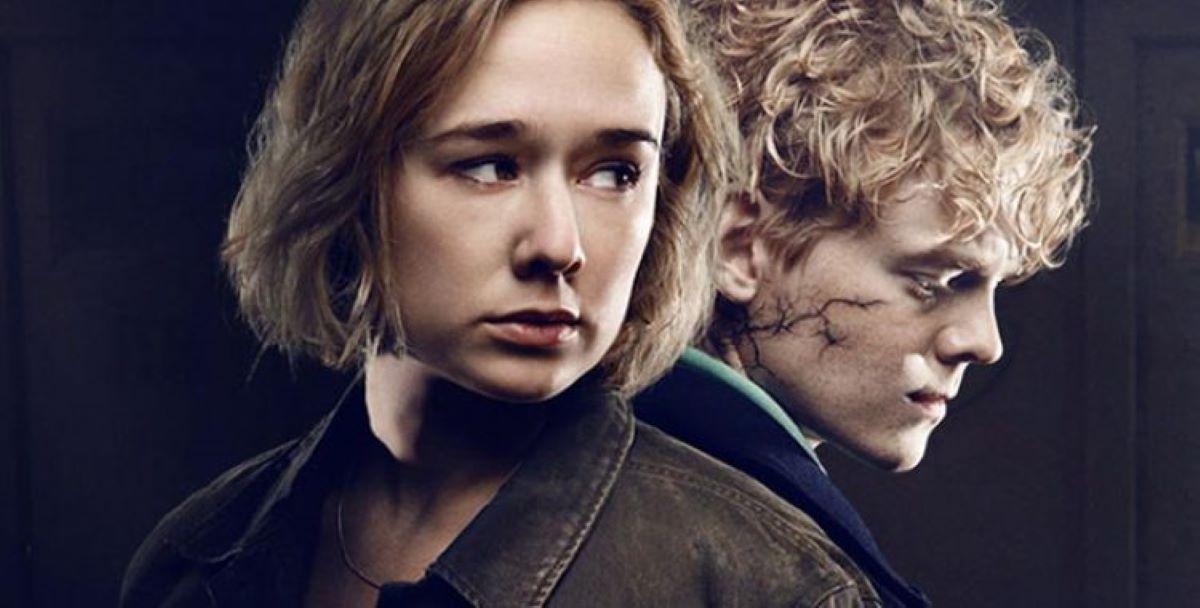 Simone e Rasmus em The Rain (Divulgação / Netflix)