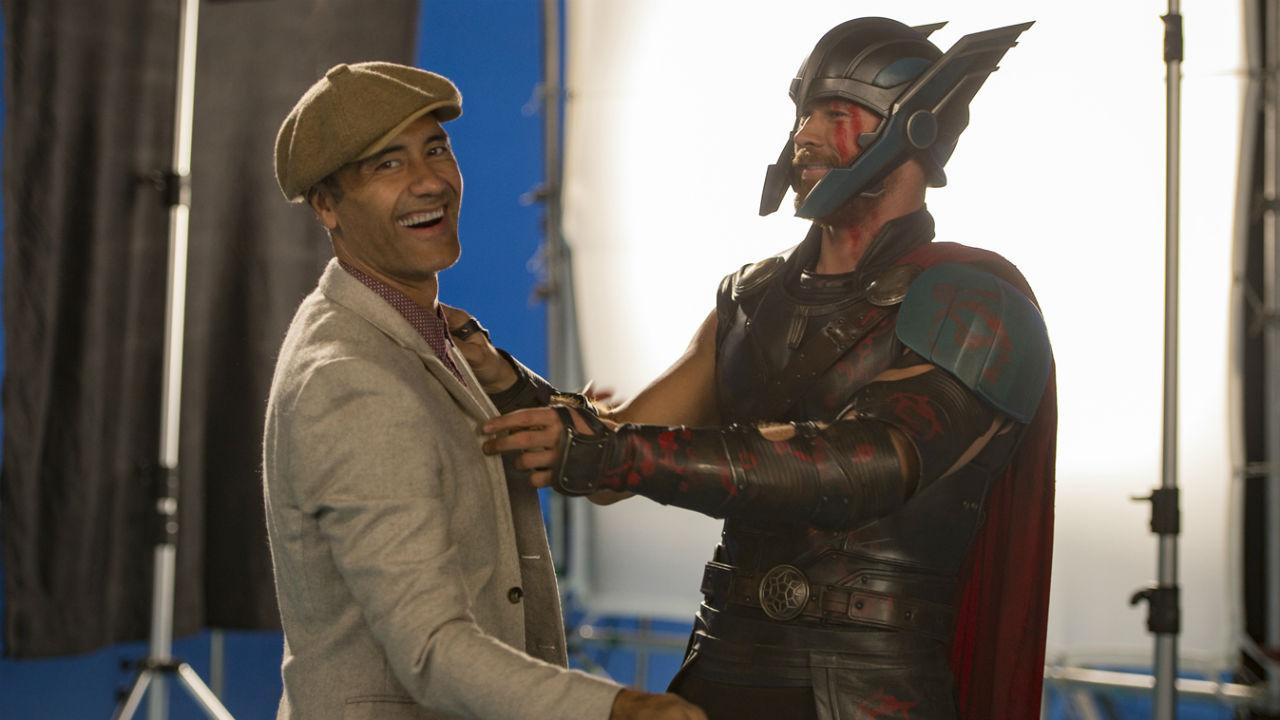 Bastidores de Thor: Ragnarok (Divulgação)