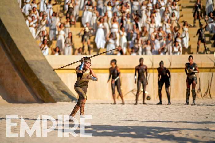 Olimpíadas das Amazonas em Mulher-Maravilha 1984 (Foto: Divulgação)