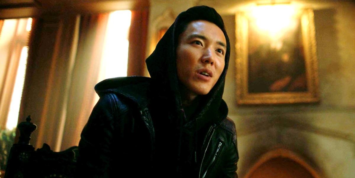 Ben (Justin H. Min) em The Umbrella (Reprodução / Netflix)