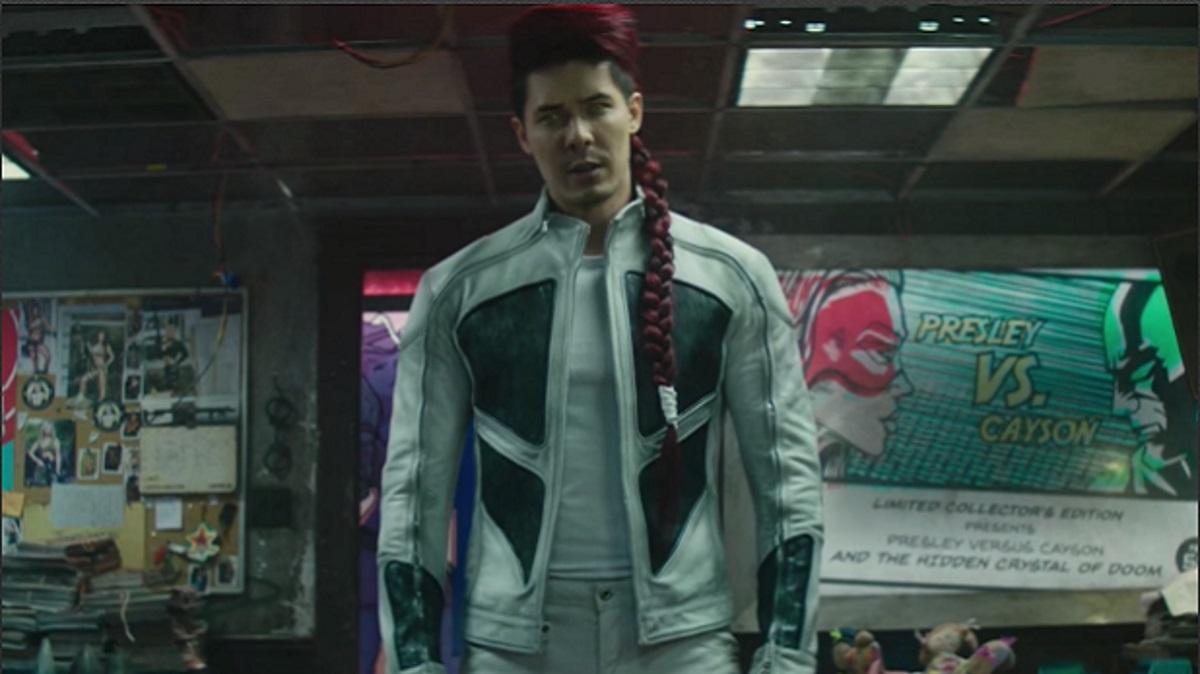 Lewis Tan como Shatterstar em Deapool 2 (Reprodução)