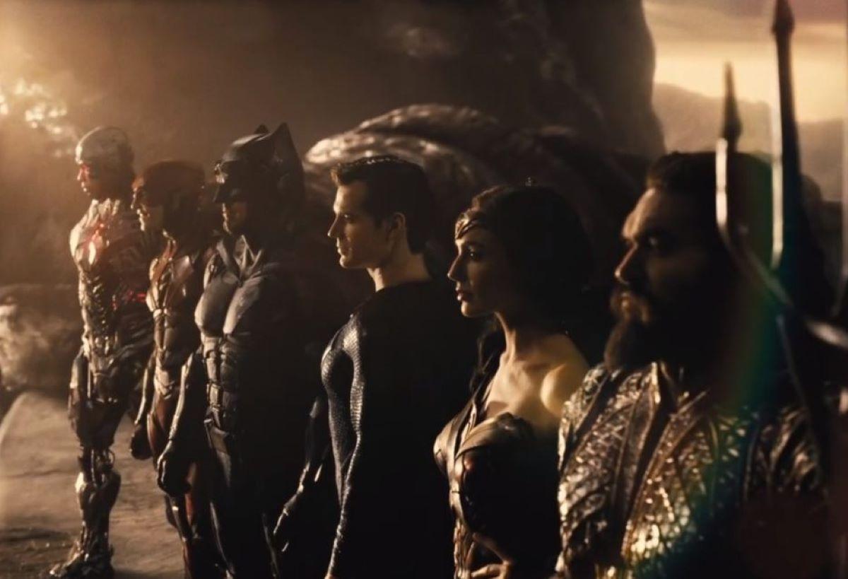 Cena do trailer de Liga da Justiça de Zack Snyder (Reprodução / DC)