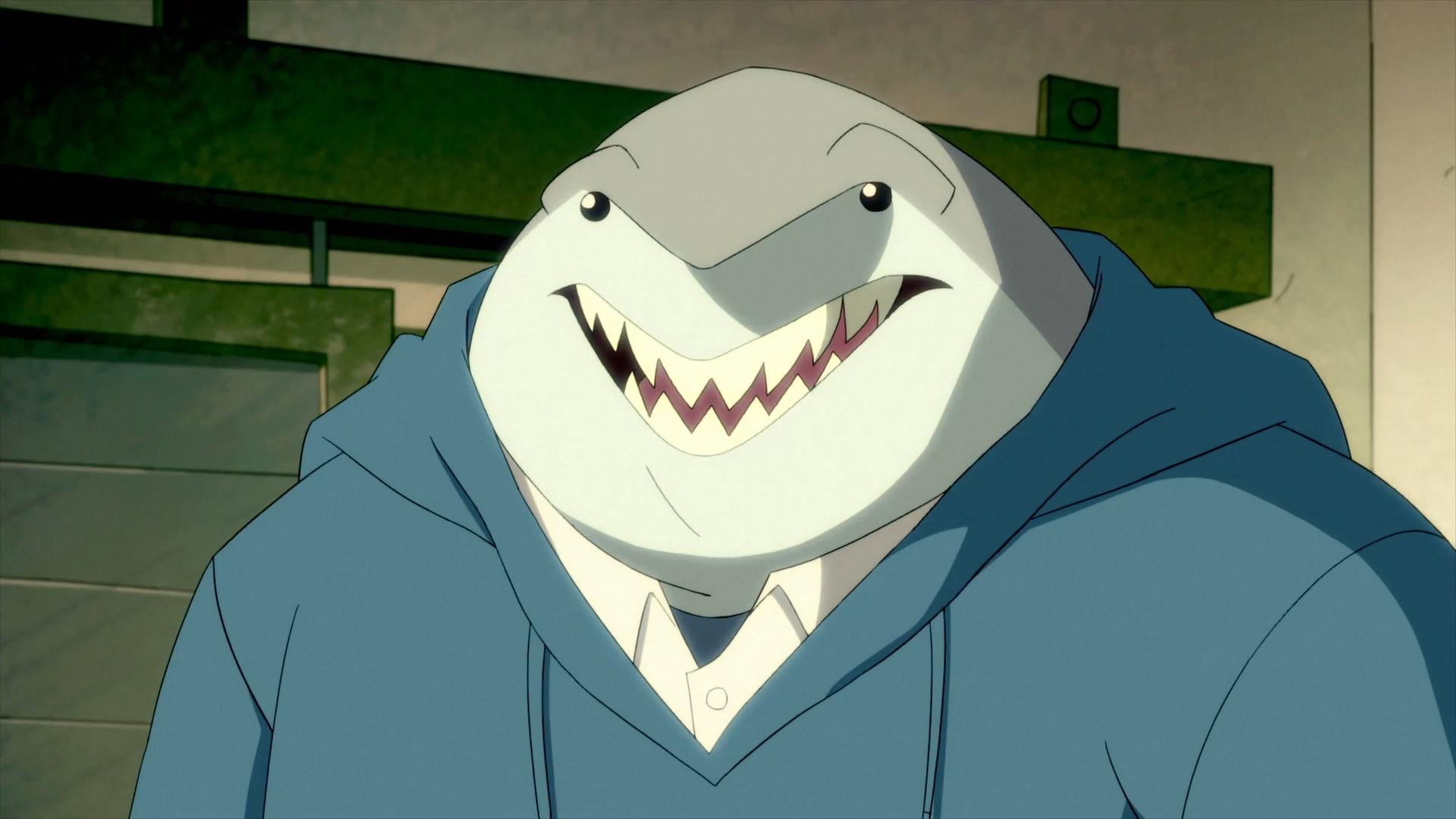 Nanaue, Tubarão Rei em Harley Quinn