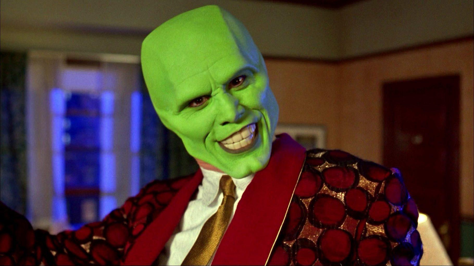 Máskara (Jim Carrey) em O Máskara