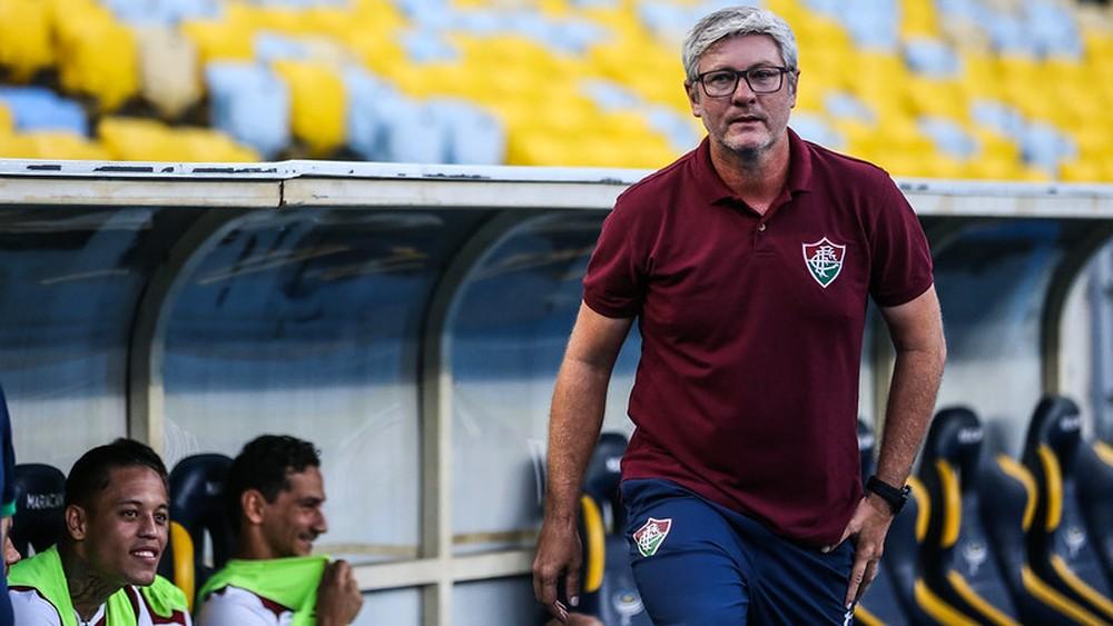 Odair Coudet, técnico do Fluminense