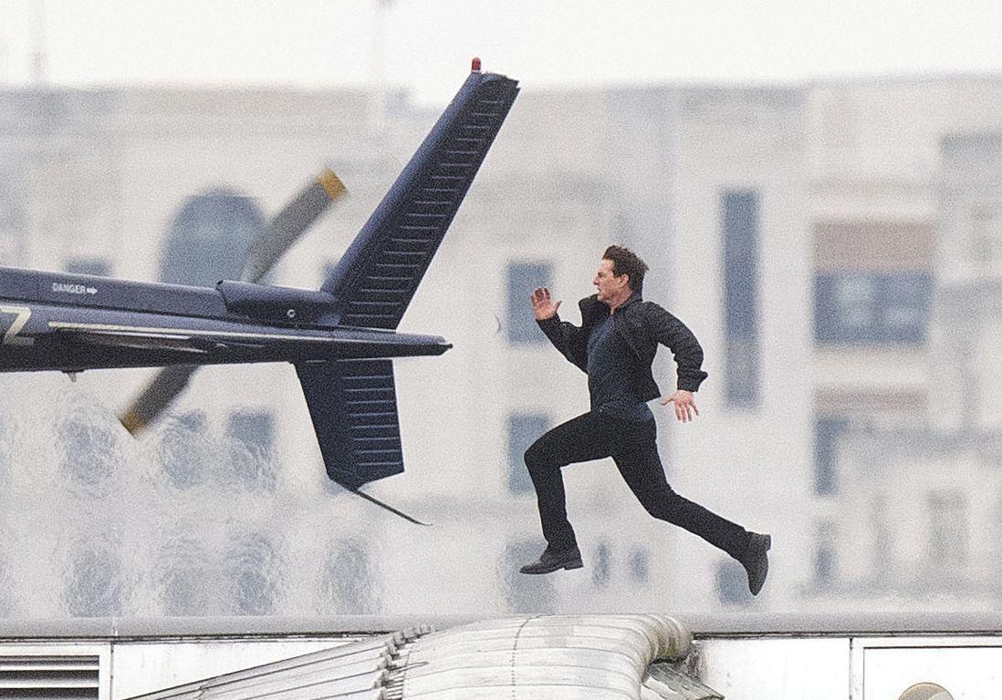Tom Cruise correndo