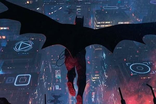 Imagem divulgada sobre a nova história do Batman