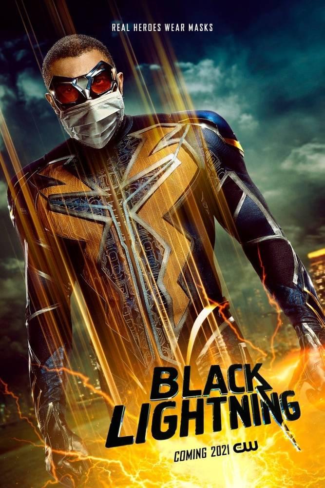 Raio Negro (Cress Williams) (Divulgação / The CW)