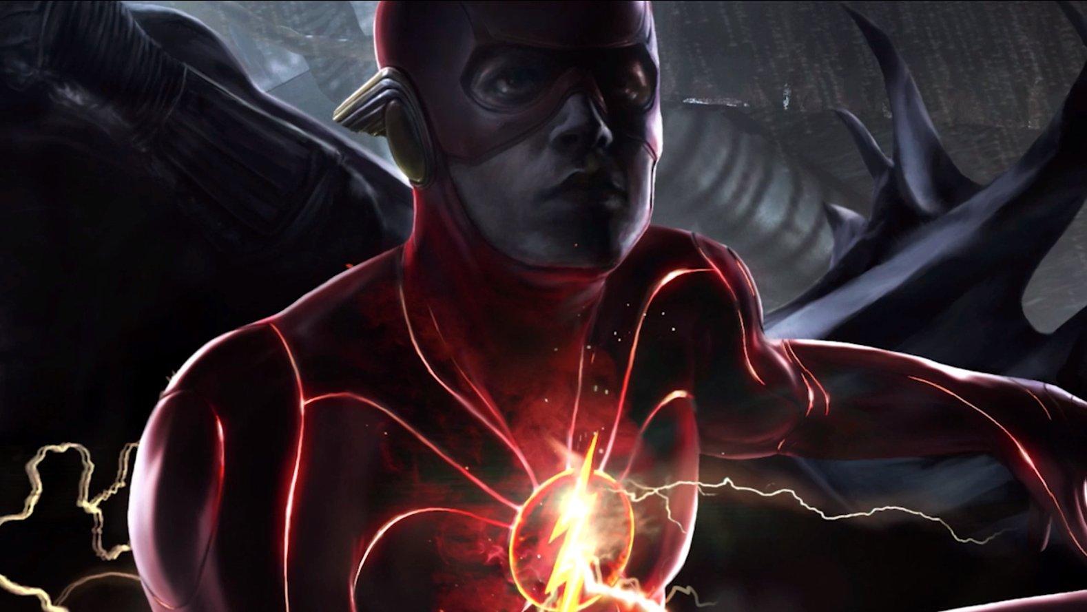 Arte conceitual do filme do Flash (Divulgação / DC)