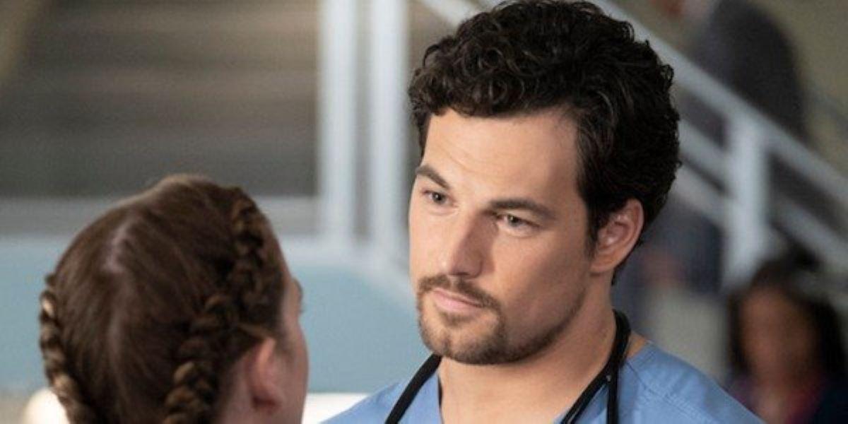 Giacomo Gianniotti em Grey's Anatomy (Reprodução / ABC)