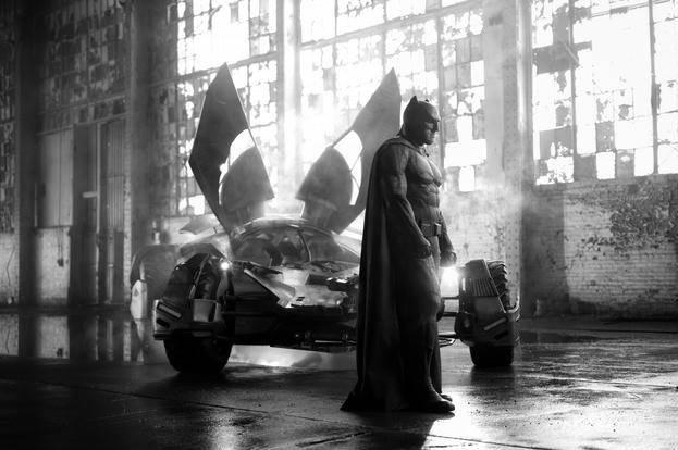 Ben Affleck como Batman em Liga da Justiça (Divulgação)