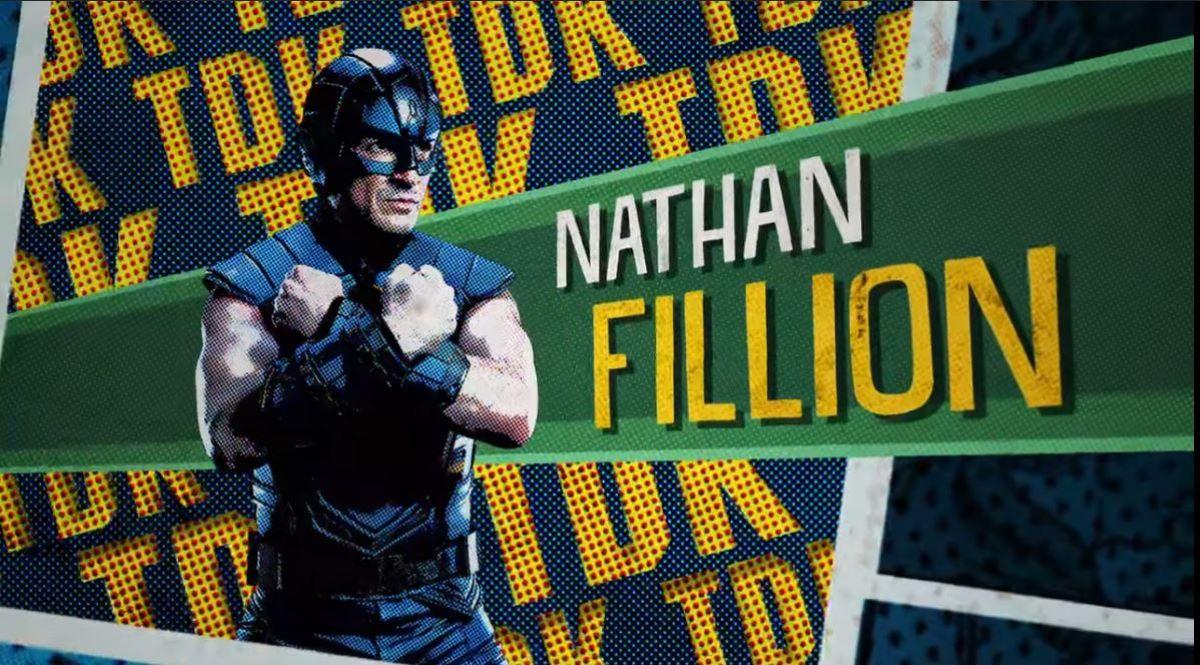T.D.K. (Nathan Fillion) em O Esquadrão Suicida (Divulgação / DC)