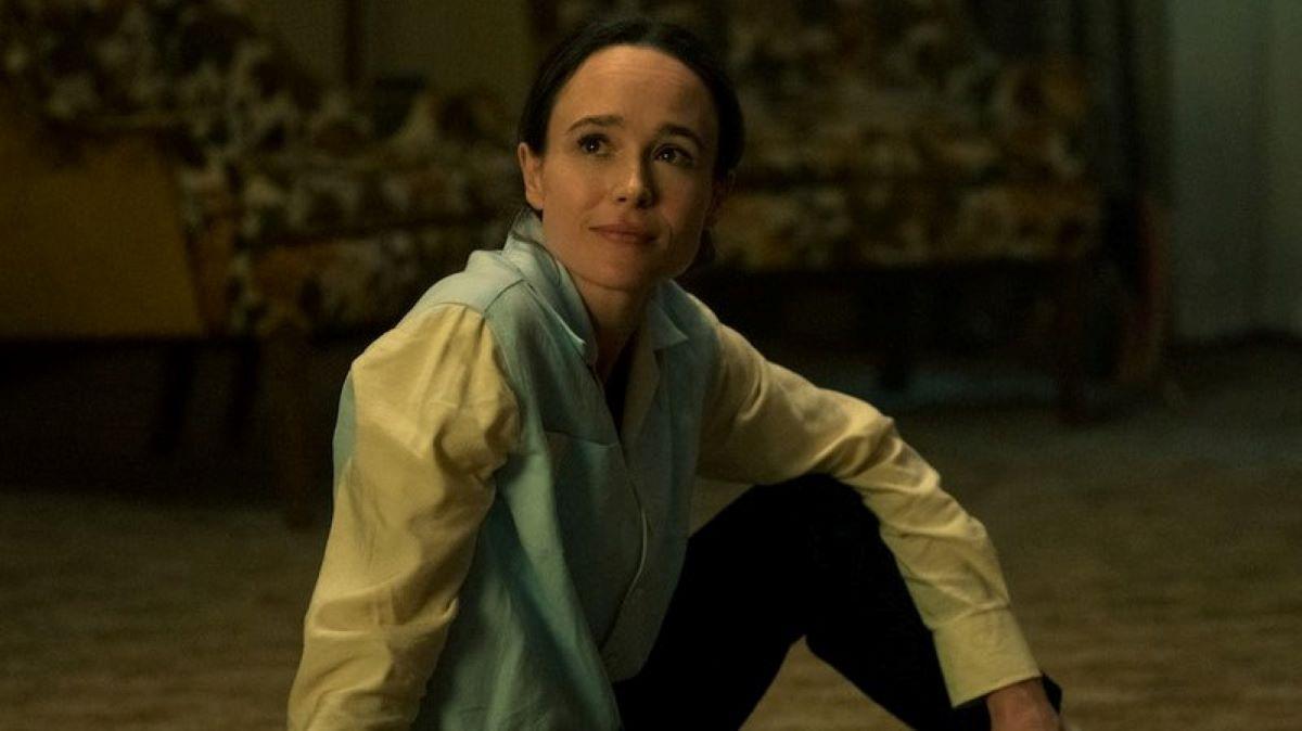 Ellen Page como Vanya em The Umbrella Academy (Reprodução / Netflix)