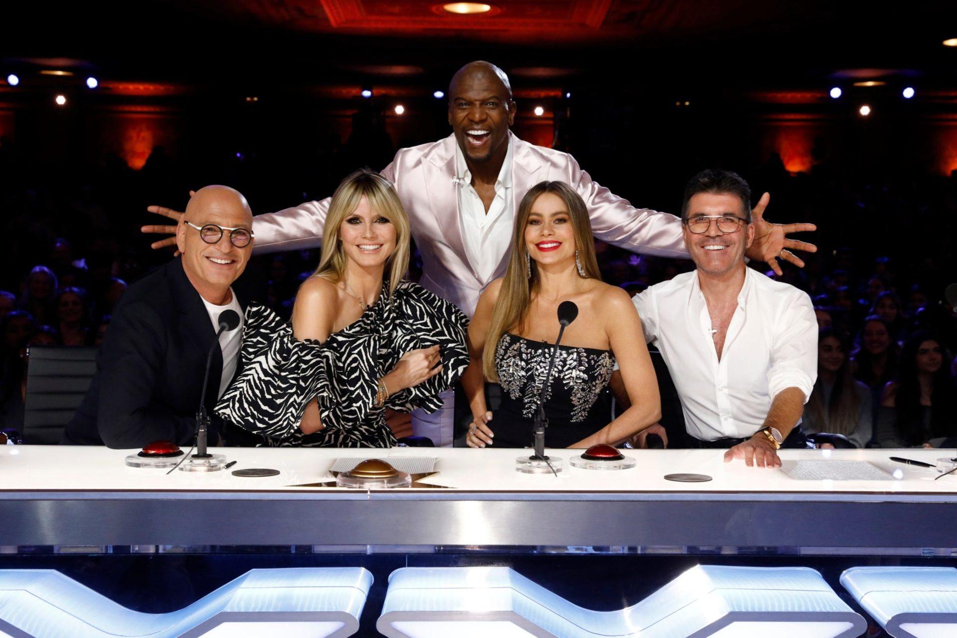 Jurados do America's Got Talent 2020 (Divulgação/ NBC)