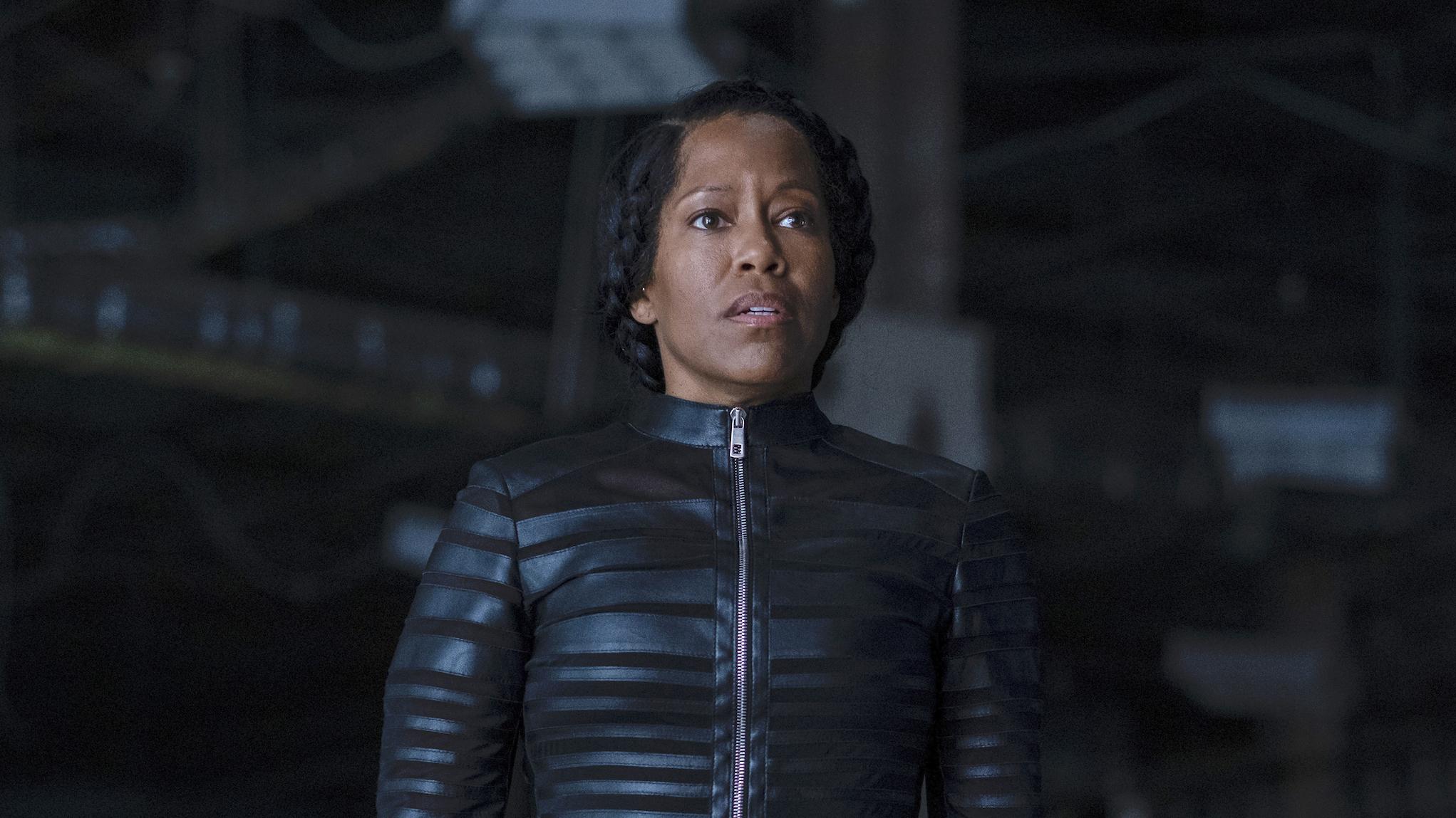 Angela (Regina King) em Watchmen